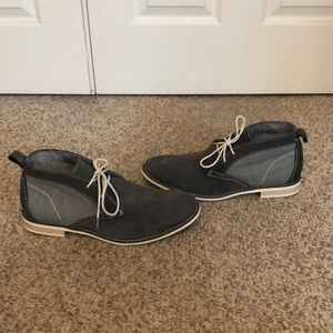 Steve Madden grey suede chukka boot shoes 11